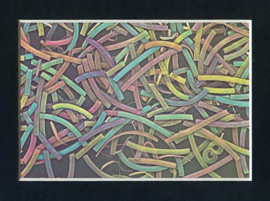 Jean-Lucien Guillaume : Pâtes colorées