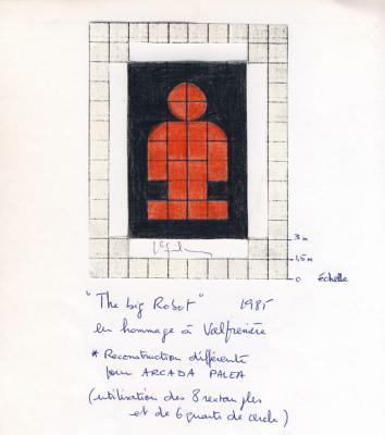 Jean-Lucien Guillaume : BIG ROBOT