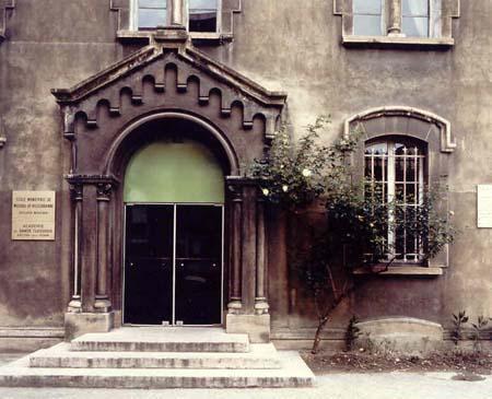 Jean-Lucien Guillaume : extérieur, salle Gérard Philippe
