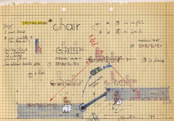 Jean-Lucien Guillaume : MODUL'ART® ...chair...
