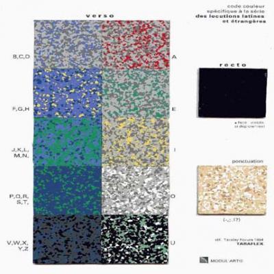Jean-Lucien Guillaume : MODUL'ART® code couleur