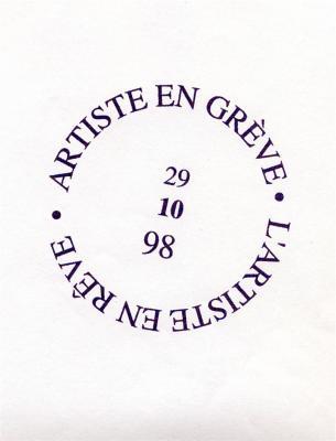 Jean-Lucien Guillaume : artiste en grève
