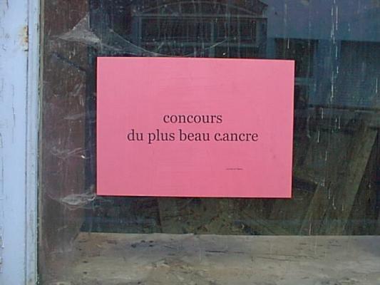 Jean-Lucien Guillaume : Chancre