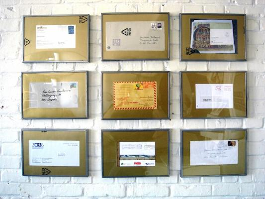 Jean-Lucien Guillaume : Enveloppes encadrées