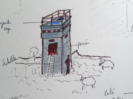 Jean-Lucien Guillaume : Pas une tour d'ivoire, étude