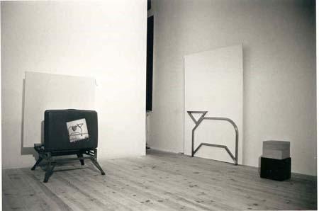 Jean-Lucien Guillaume : vue show room, Art Tunnel, Lyon