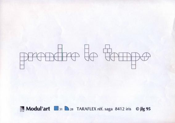 Jean-Lucien Guillaume : MODUL'ART® prendre le temps