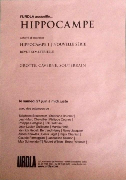 Jean-Lucien Guillaume event : Hippocampe
