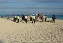 Photography by Jean-Lucien Guillaume : plage, Playa del Carmen, Mexico, 2008