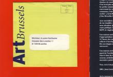 Jean-Lucien Guillaume event : Enveloppe au format atypique