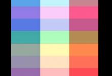 Jean-Lucien Guillaume event : Black-B/W/R-Rainbow