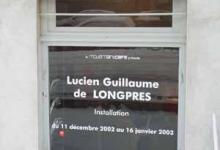Jean-Lucien Guillaume event : extérieur de la galerie