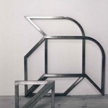 Jean-Lucien Guillaume : tubes carré inox (30x30)